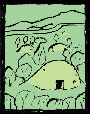 ロマンと謎の 古墳群