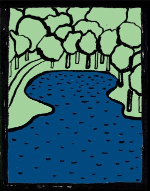 底なし伝説 金堂が池